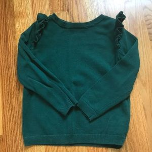 Adorable 4T Old Navy Green Sweater